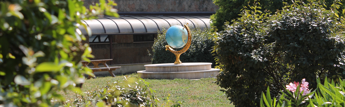 Astrogarden mappamondo giardino astronomia fisica romatre roma