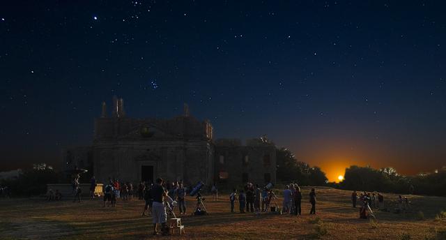 #monterano #cielostellato #stelle #telescopi
