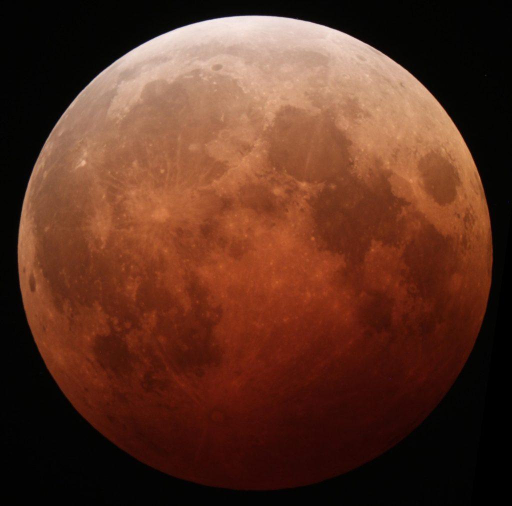 luna eclisse totale spazio luglio 2018 osservazione